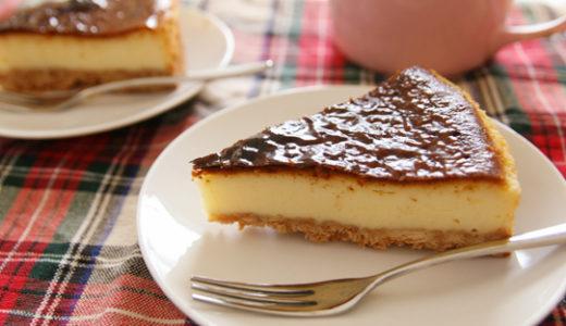 ミキサーで混ぜるだけ!簡単で美味しいチーズケーキ