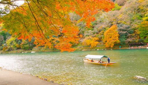 紅葉がキレイな嵐山に子連れベビーカーで行ってきました