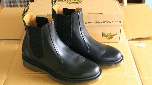 ドクターマーチンの靴