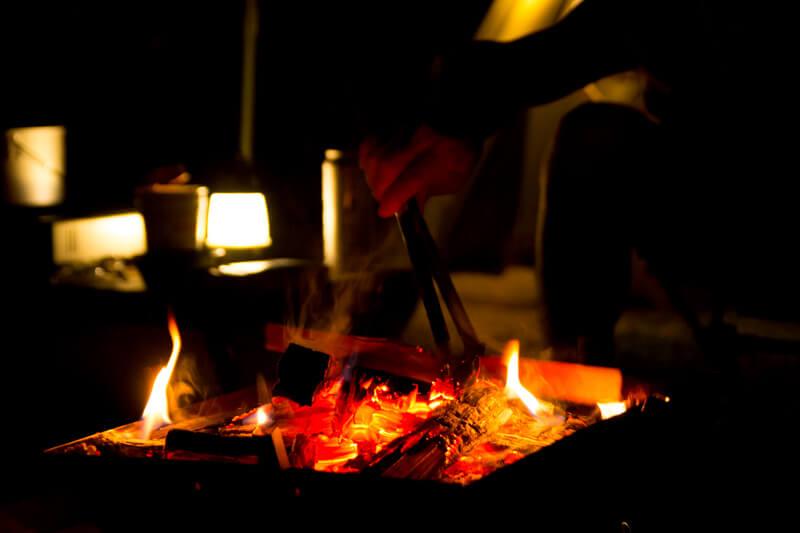 Camp焚き火2