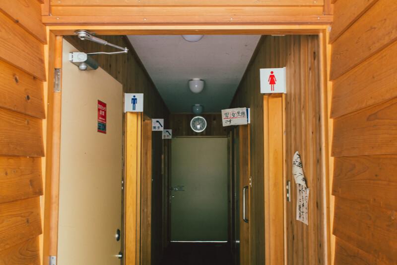 白川渡オートキャンプ場トイレ