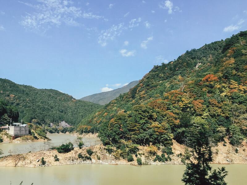 大滝ダム周辺