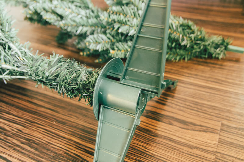 ニトリのクリスマスツリー脚部分