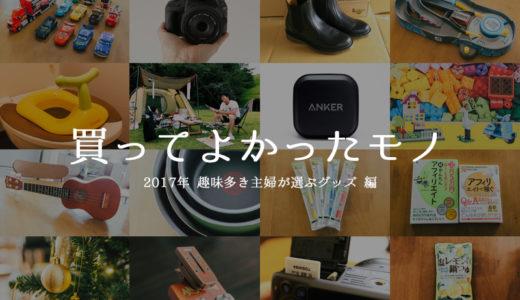 【2017年】買ってよかったもの全25選!趣味多き主婦が選ぶグッズ【後編】
