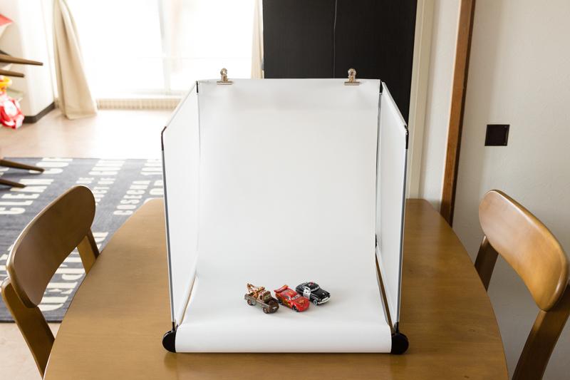撮影ボックス正面