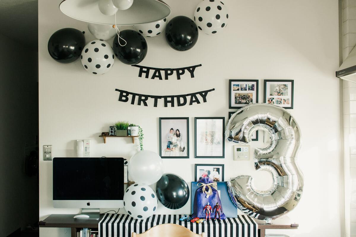 3歳部屋の飾り付けアイデア