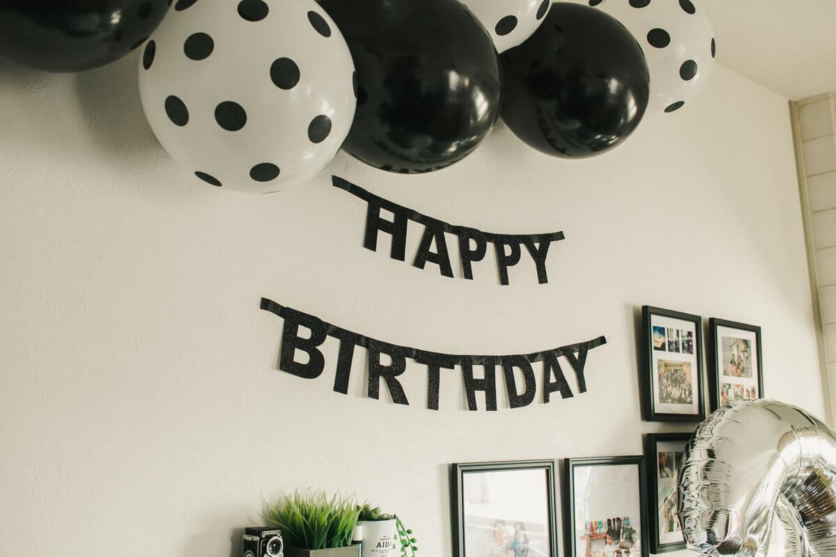 三歳誕生日飾り付けアイデア