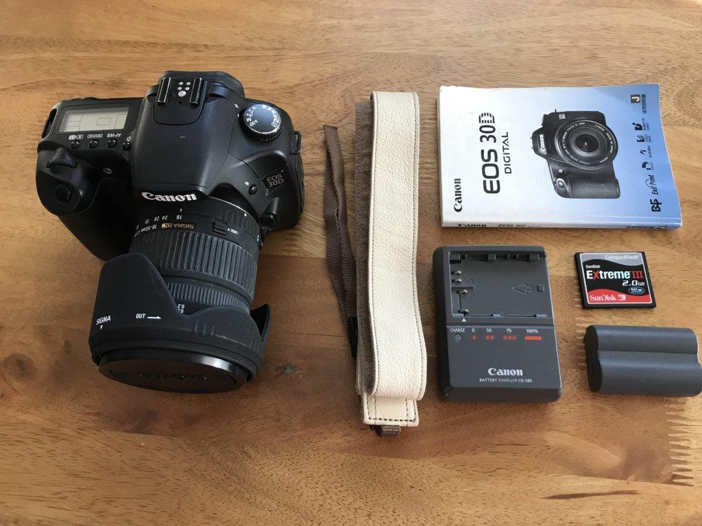 メルカリで売ったカメラの写真