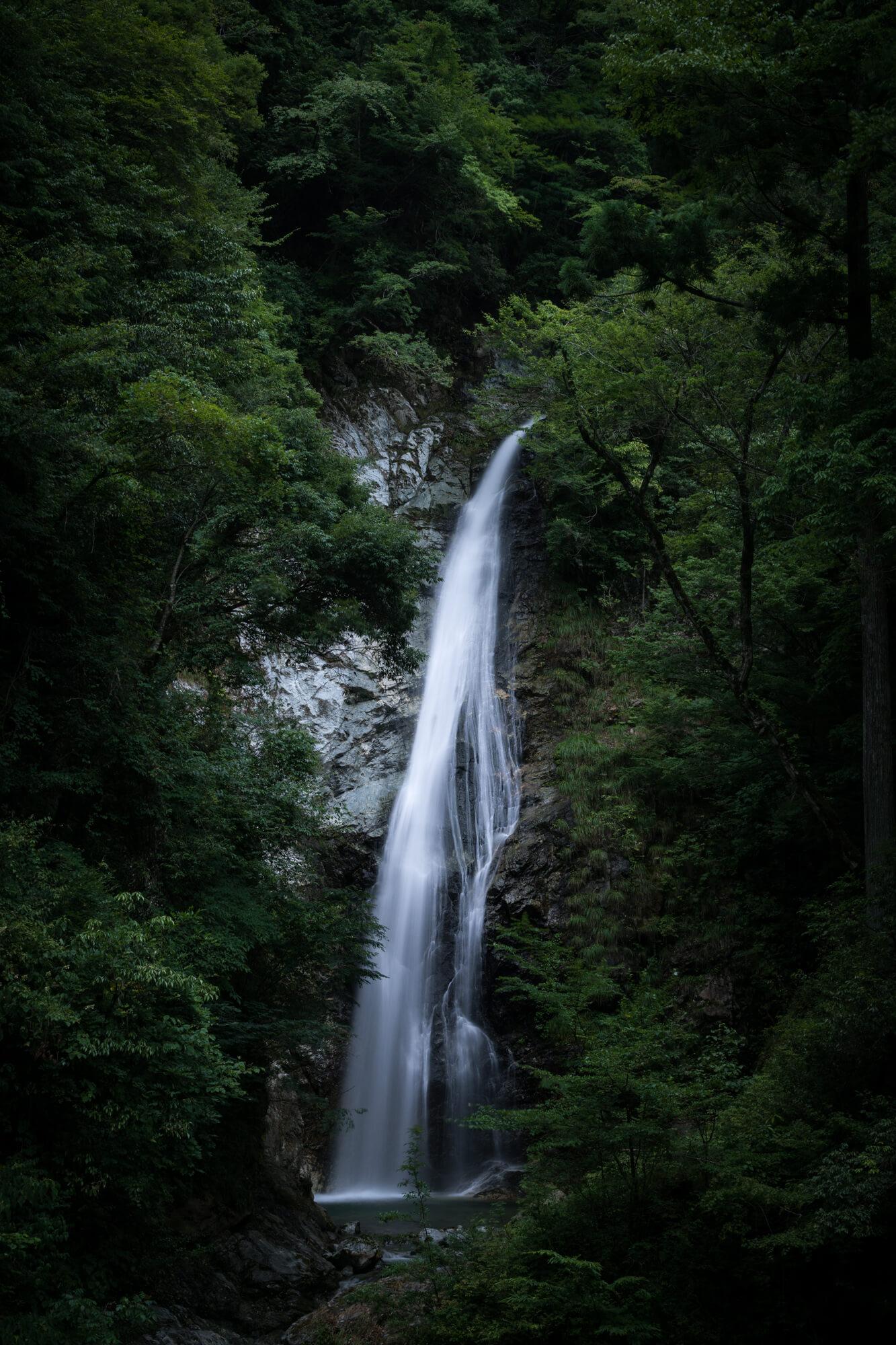 ND200を使って撮った原不動の滝