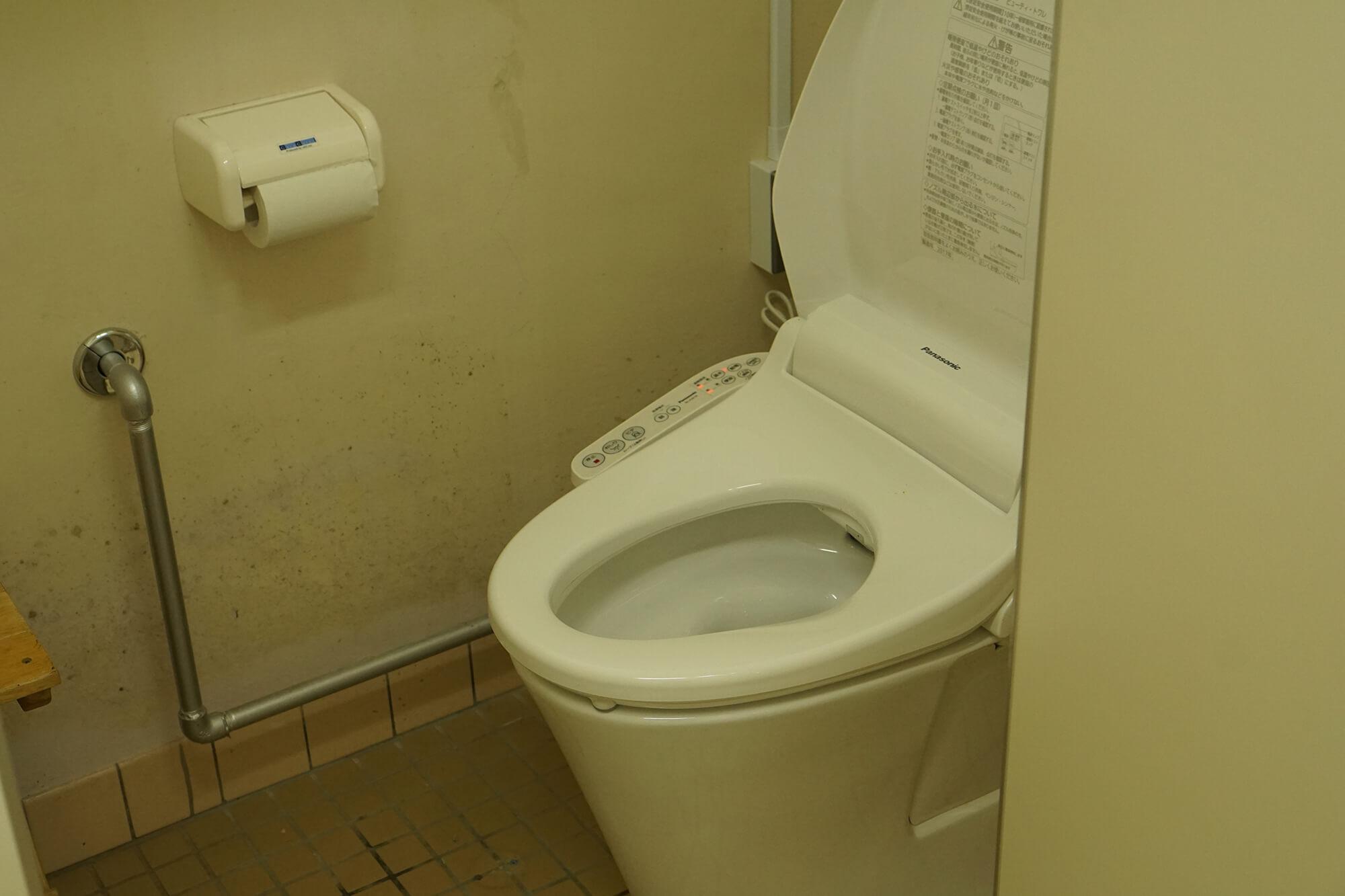 山崎アウトドアランドトイレの写真