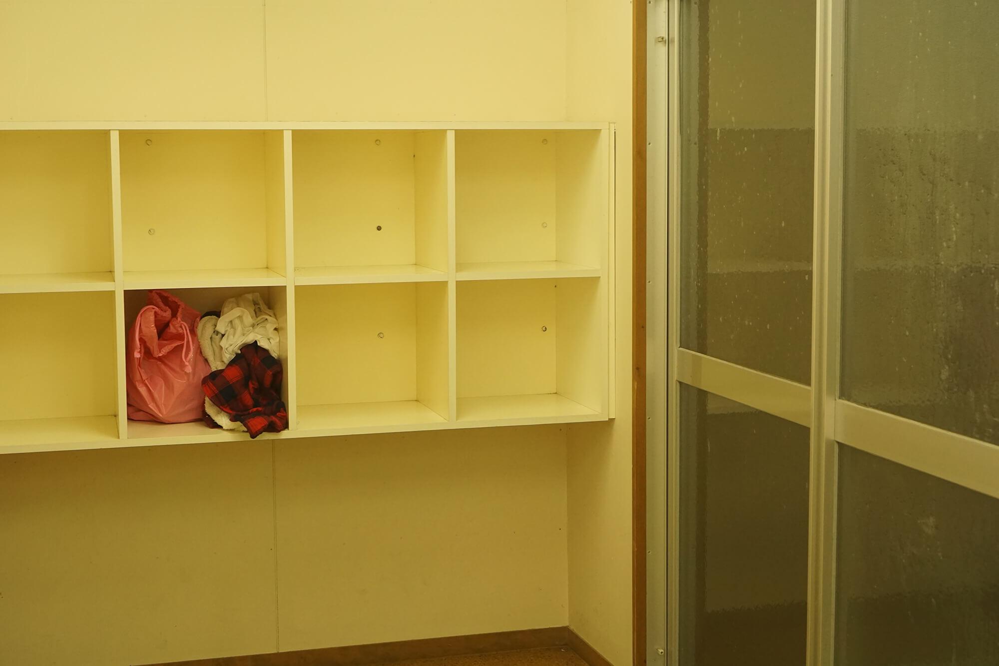 山崎アウトドアランドのシャワー室の写真