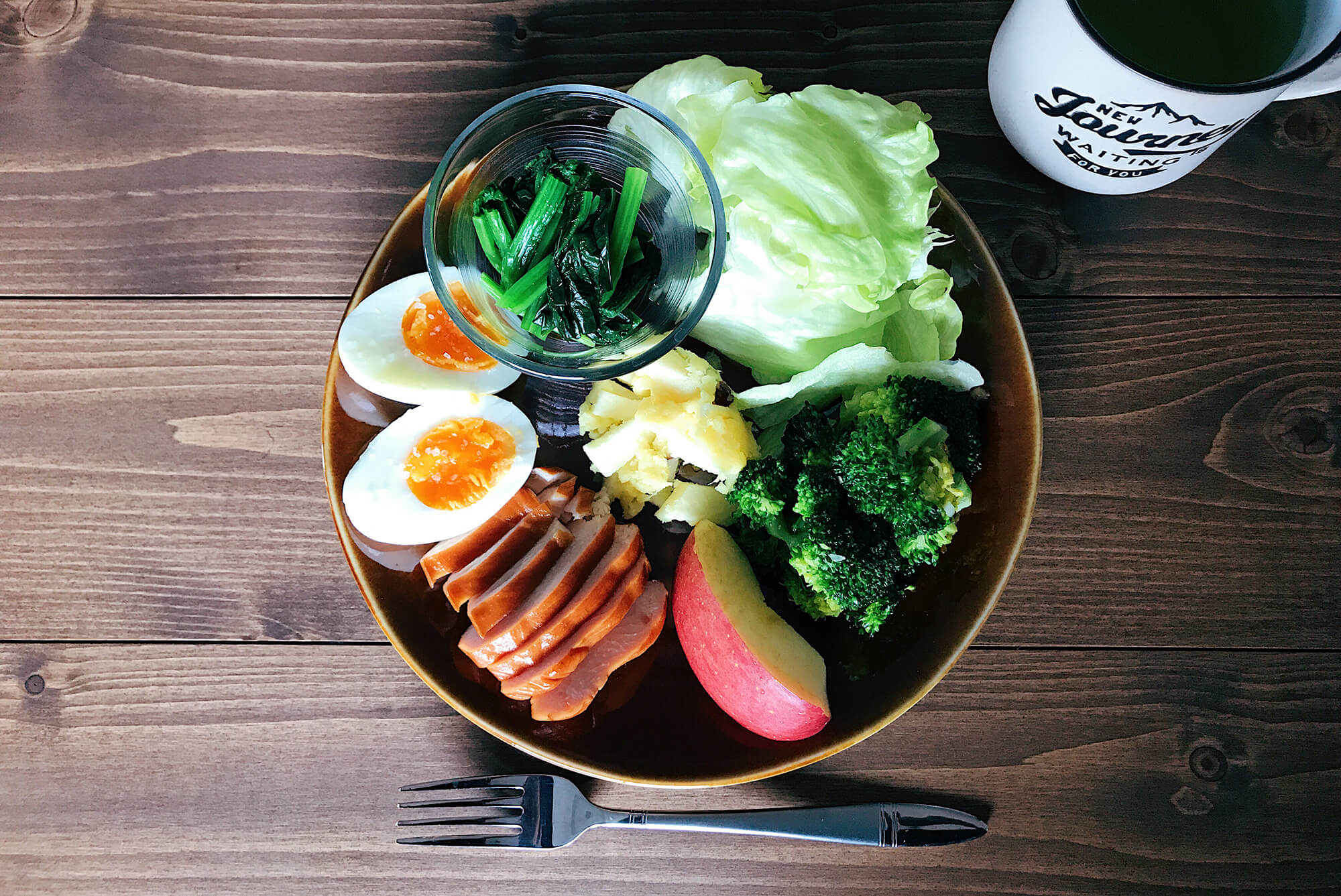 パレオダイエットの食事の鶏ハム