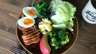 パレオダイエッターの食事画像
