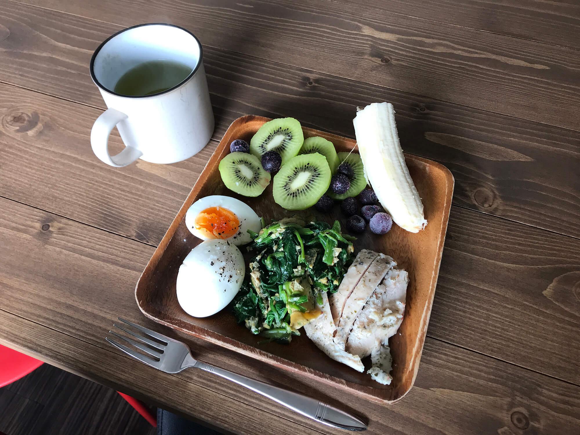 パレオダイエット中の食事画像