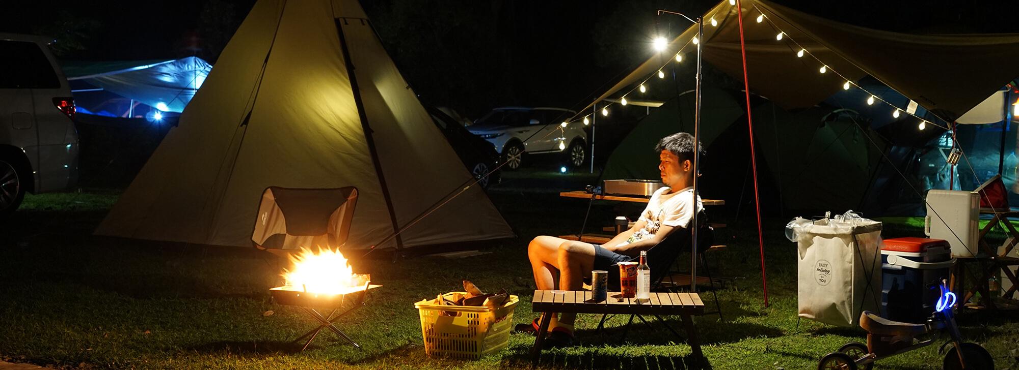 カテゴリー用キャンプ写真